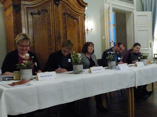 GreenActs styrgrupp undertecknar miljömålslöften, Foto P-A Persson.