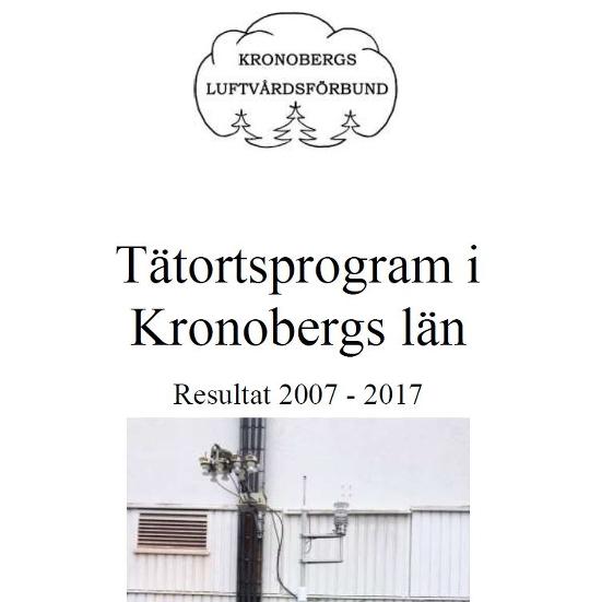 Del av Tätortsrapportens framsida. Foto: Eva Hallgren Larsson, Växjö kommun.