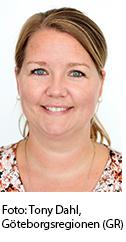 Susanne Härenstam, Foto: Tony Dahl, Göteborgsregionen (GR)