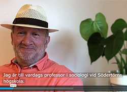 Film med Apostolis Papakostas, professor i sociologi på Södertörns högskola samt samordnare på Vetenskapsrådet