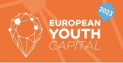 En bild p� loggan f�r European Youth Capital 2023