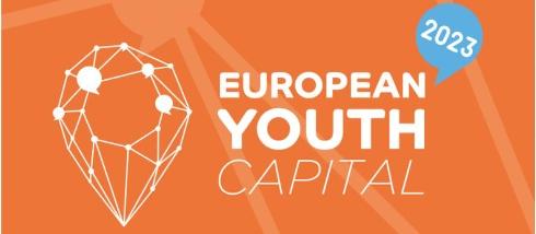 Logga European Youth Capital 2023