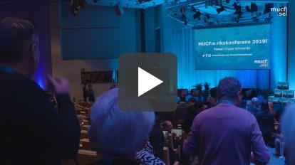 Tillbakablick på MUCF:s rikskonferens 2019