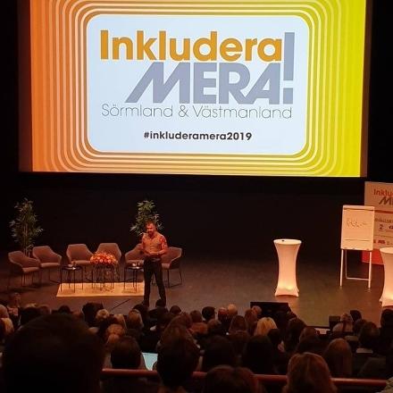 Foto från konferensen Inkludera mera