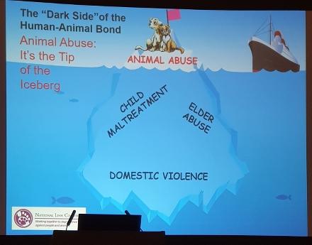 "Foto av PPT-bild: The ""Dark Side"" of the Human-Animal Bond."