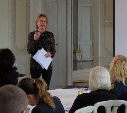 Foto av jämställdhetsminister Åsa Regnér