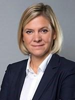 Foto av Magdalena Andersson
