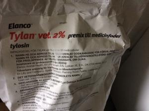 "Bild: Läkemedelspremixer kan inte ges via ""top dressing""."