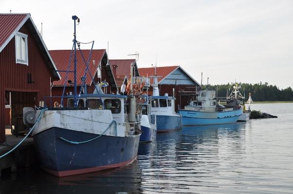 Spikens fiskeläge, foto: Fredrik Nilsson