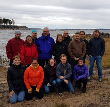 Gruppbild på deltagarna på Nordkalottmötet.