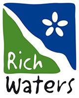 Logotypen för projektet LIFE IP Rich Waters