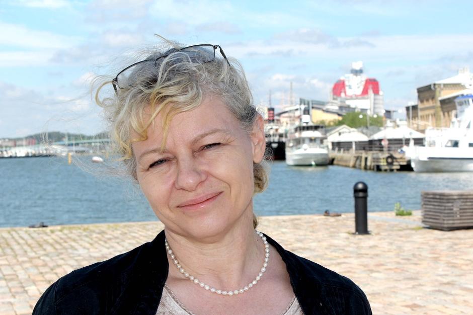 Vattenvårdsdirektör Annika Ekvall Foto: Robert Lindberg