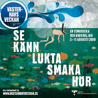 Länk till program för Västerhavsveckan som arrangeras årligen i vecka 32 av Västra Götalandsregionen.