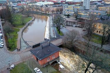 Faunapassagen vid Turbinhuset i Västerås. Foto: Johan Lind.