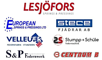 Lesjöfors is an international supplier of springs and pressings