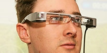 Smart glasses. Photo