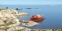 Aboatinthearchipelago.Photo