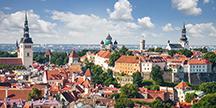 Tallinn old town cityscape. Photo