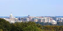 Utsikt over Washington, USA. Foto