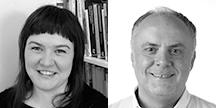 Dr Sharon Black og Dr Carlos de Pablos-Ortega. Foto