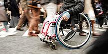 En rullestolbruker. Foto