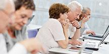 Dataworkshop for seniorer. Foto