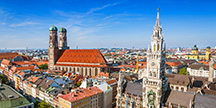 City hall at the Marienplatz in Munich, Germany. Photo