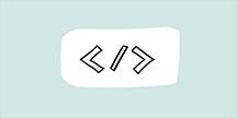 Illustration av html-tag