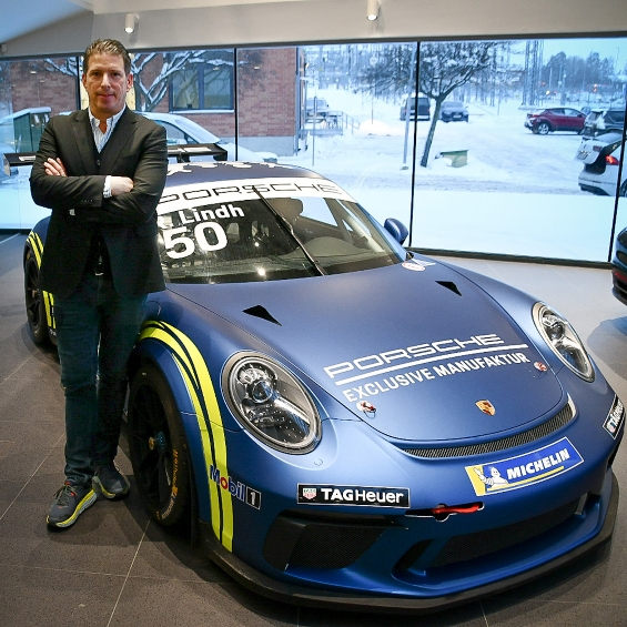 Stolt officiell samarbetspartner till Porsche Carrera Cup