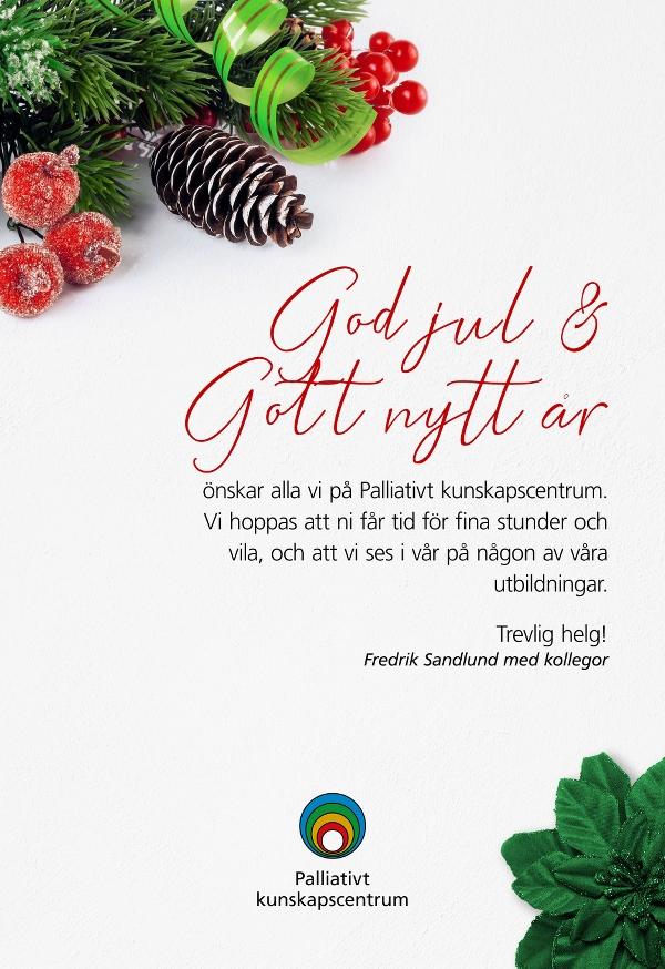 Julhälsning från PKC