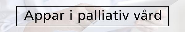 Appar i palliativ vård
