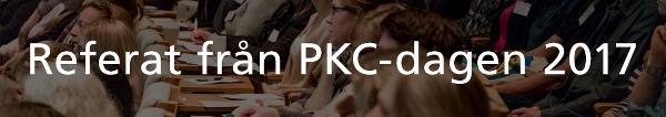 Referat från PKC-dagen 2017