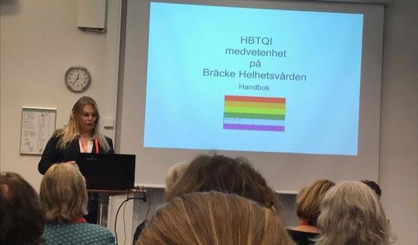 Marion Englaborn föreläser