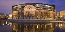 Riksdagshuset i Stockholm. Foto