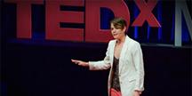 TED Talk av Elise Roy. Foto
