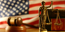 En amerikansk domstol. Foto