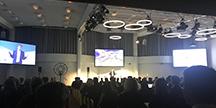 Seminarium vid Högnivåkonferens om dataekonomi i Helsingfors. Foto