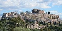Akropolis i Athens. Foto