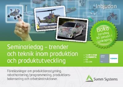 Seminariedag-trenderochteknikinomproduktionochproduktutveckling