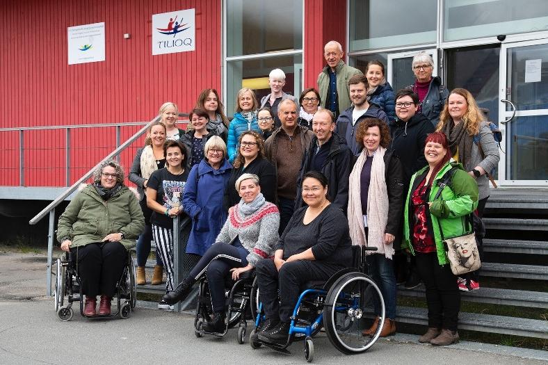 Nordiska ministerrådets fuktionshindersråd 2018. Ola Balke överst i bild. Foto: Joakim Johansson, Nordens välfärdscenter