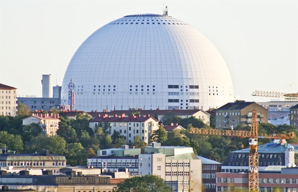Globen i Stockholm.