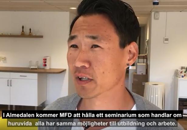 Magnus Lagercrantz från MFD är en av personerna som kommer till Delaktighetsforum under Almedalsveckan.