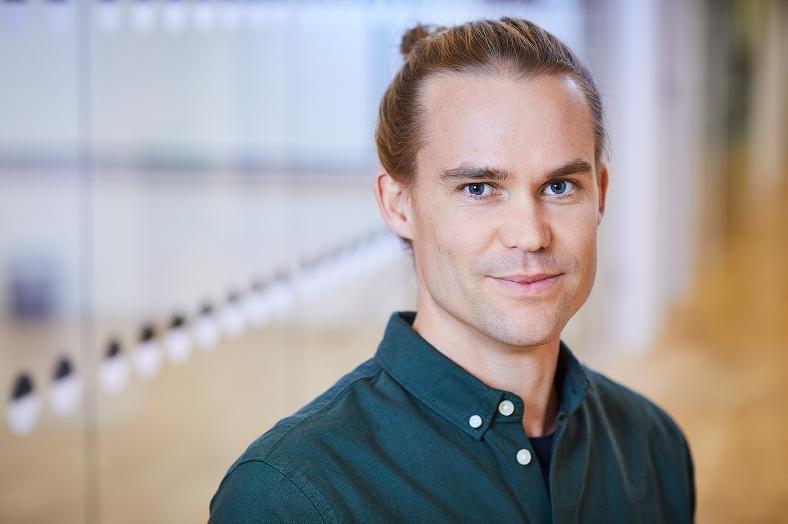 Axel Ingvarsson, utredare på MFD. Foto: Pia Nordlander