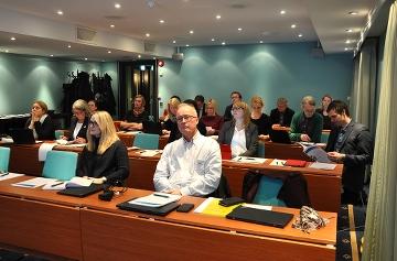 Skolforskningsinstitutet besöker KSU i Oslo